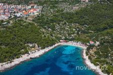 Pláž ve městě Hvar