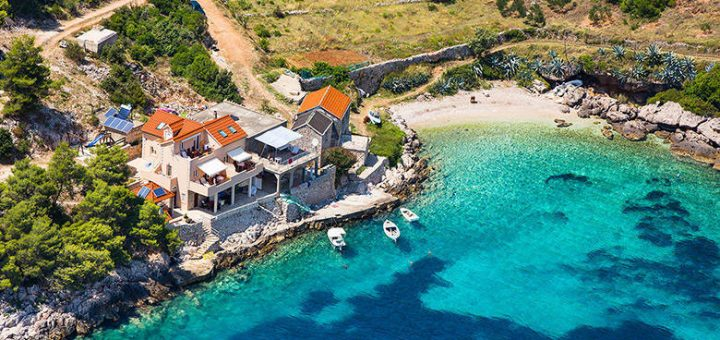 Medvidina, ostrov Hvar